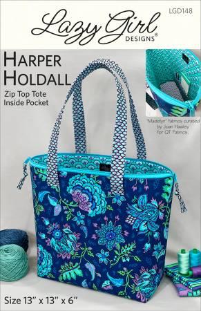 Harper Holdall by Lazy Girl Designs