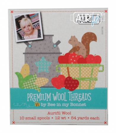 Premium Wool Threads Collection Lana Wool 10 Small Spools