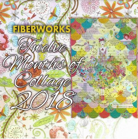 2018 Fiberworks Collage Calendar
