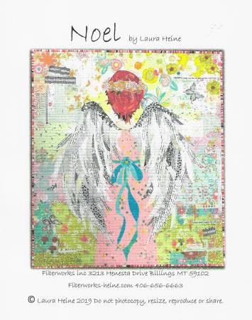 Noel Collage Pattern by Laura Heine