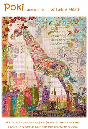 Laura Heine - Poki Mini Giraffe Collage