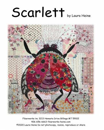 Scarlett: The Ladybug Collage Pattern