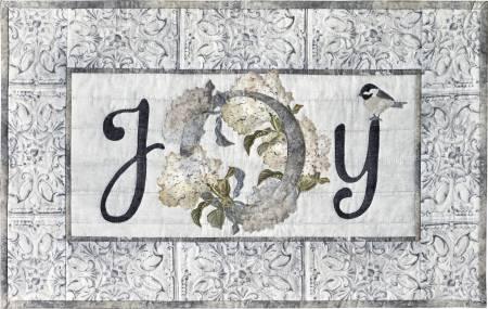 Blooms Of Inspiration - Joy Laser Cut Fabric Kit by McKenna Ryan