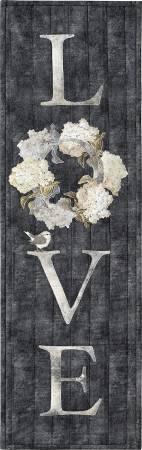 Blooms Of Inspiration - Love Laser Cut Fabric Kit by McKenna Ryan