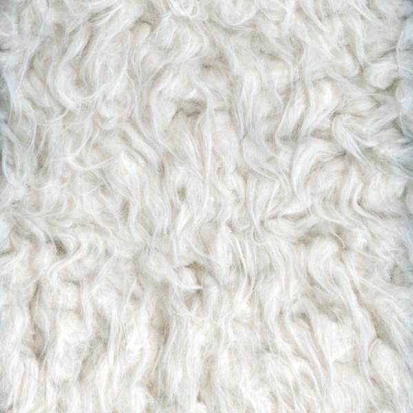 Luxe Llama Cuddle Solid Ivory