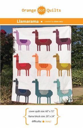 Llamarama Quilt Pattern
