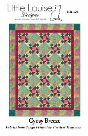 Gypsy Breeze Quilt Pattern