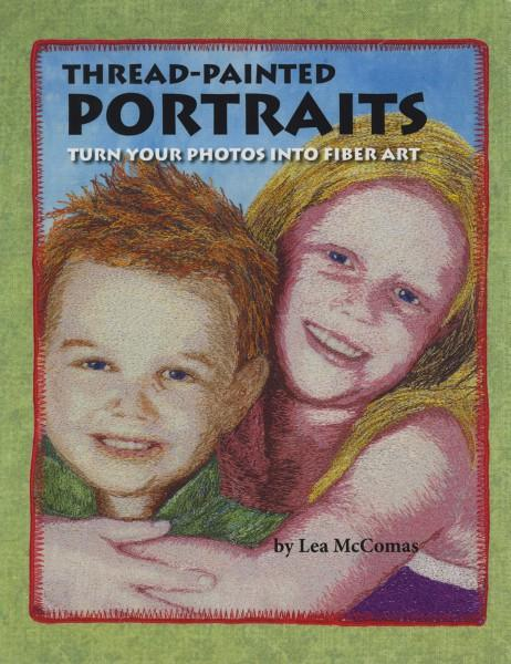 Thread Painted Portraits - Softcover