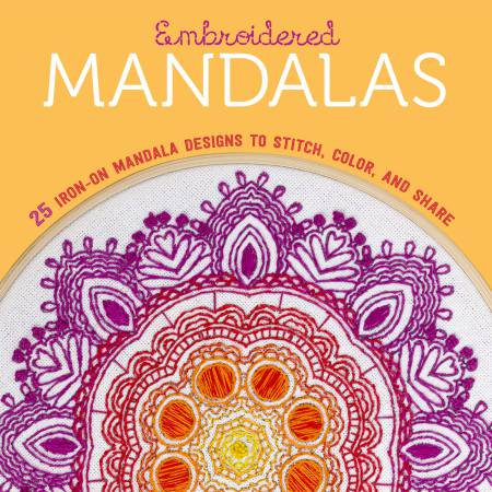 Embroidered Mandalas Book