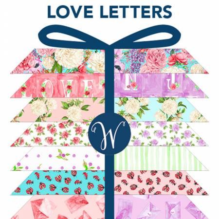 Love Letters Fat Quarter Bundle - by Shannon Christensen for Windham Fabrics