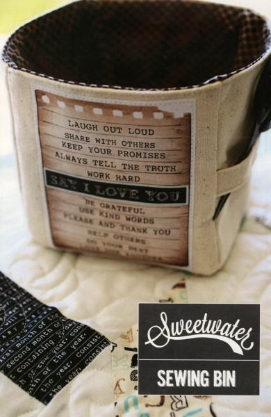 Say I Love You Sewing Bin Kit