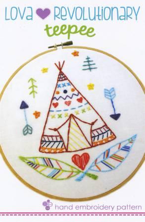 Teepee Embroidery