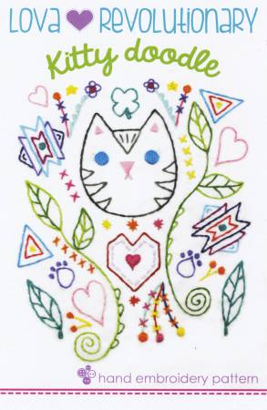 Kitty Doodle Embroidery