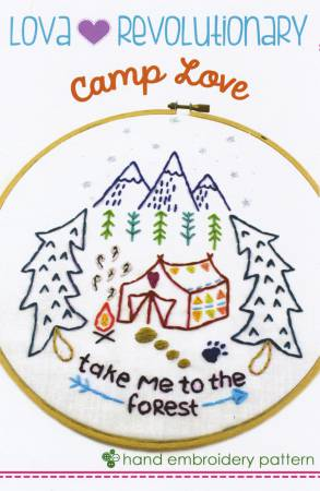 Lova Revolution - Camping Forest Embroidery