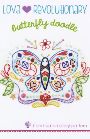 Lova Revolution - Butterfly Doodle Embroidery