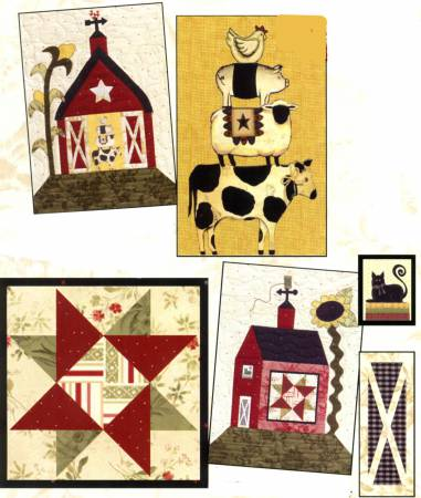 Fabric - Little Red Barns Accessory Fabric Packet