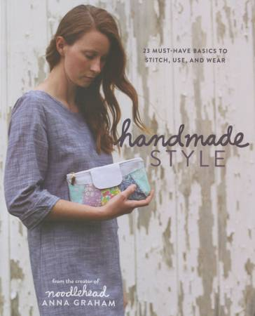 Handmade Style by Anna Graham of Noodlehead - Softcover