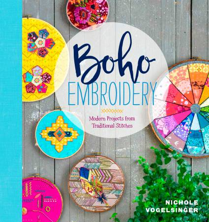 Boho Embroidery - Softcover