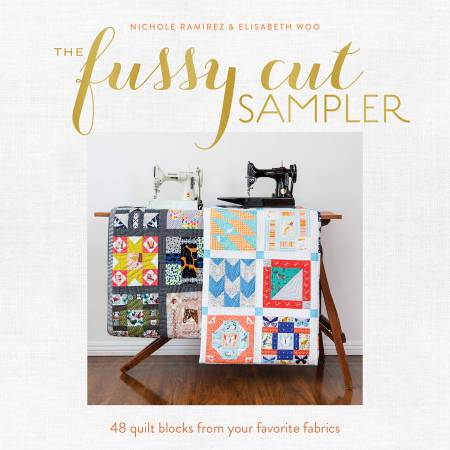 Fussy Cut Sampler - Softcover