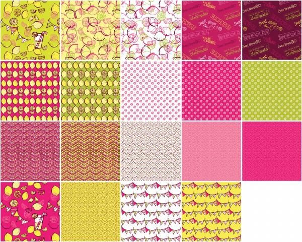 Lemon Squeezy 10 Squares by Contempo 42pcs