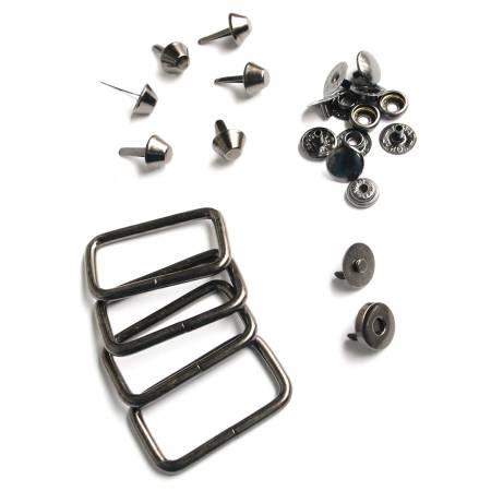 Hardware Kit Union Street Satchel Gunmetal 14pc