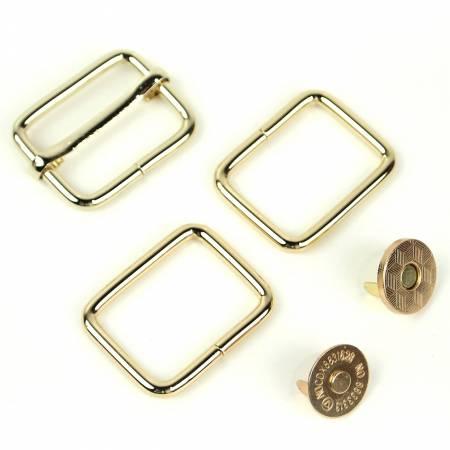 Holly Hardware Kit Gold