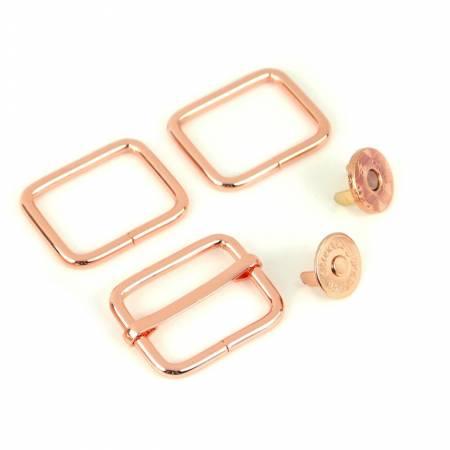 Charade Hardware Kit Rose Gold