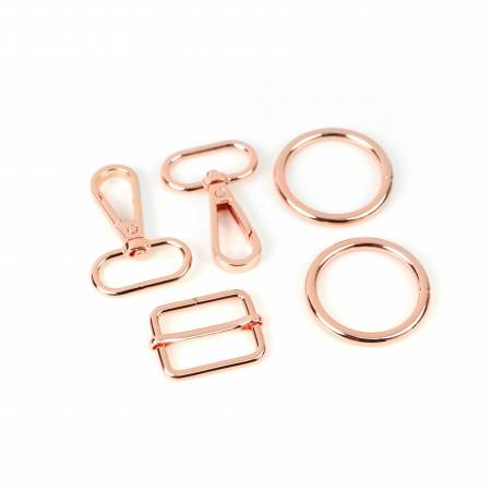LST133C Sallie Tomato Ferris Hardware Kit Rose Gold