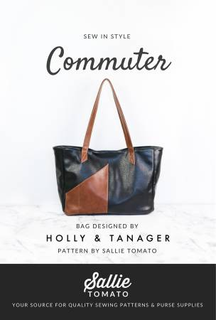 Commuter Tote Bag Pattern by Holly & Tanager for Sallie Tomato