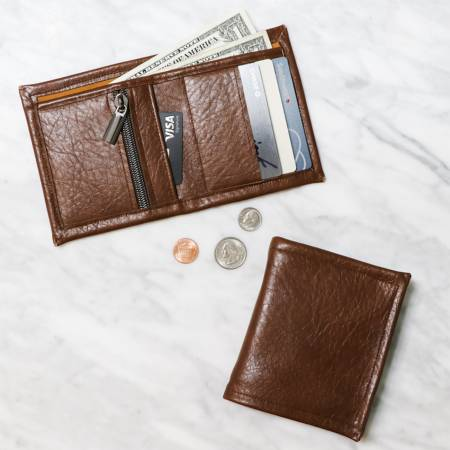 **Lucky $2 Wallet Kit - Brown Legacy
