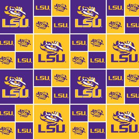 Yellow/Purple Louisiana State LSU-020