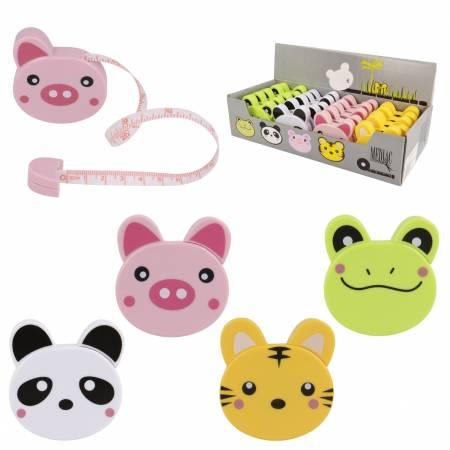 Animal Tape Measure Assortment 20pc