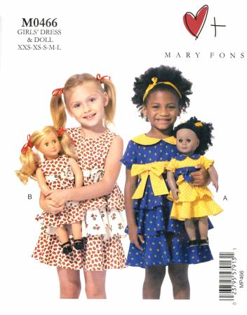 Childs' Dress and Doll