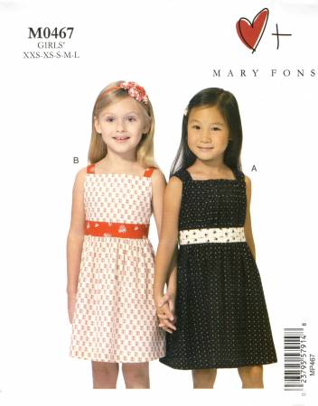 Childs Dress Mary Fons #0467