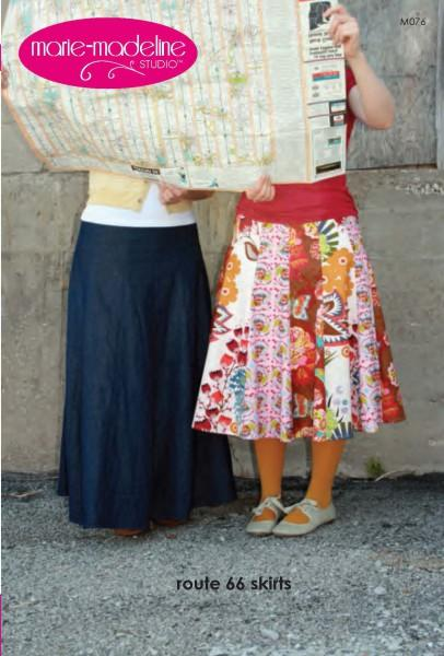 Route 66 Skirts Pattern by Marie-Madeline Studios