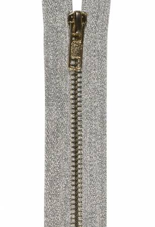 Zipper Metallic 40cm Silver - M1814-40-120