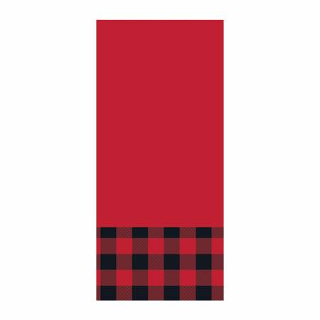 Red Buffalo Check Hand Towel