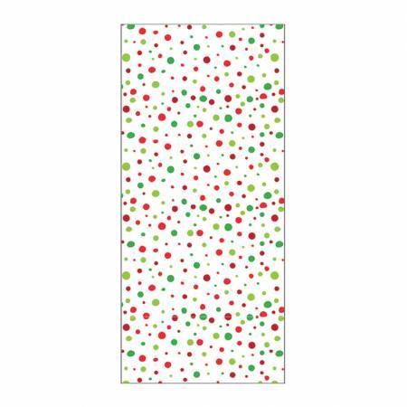 Christmas Dots Hand Towel