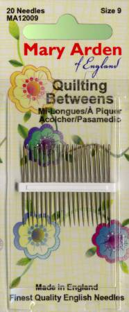 Mary Arden Between / Quilting Needles Size 9 20ct
