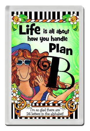 Plan B Magnet