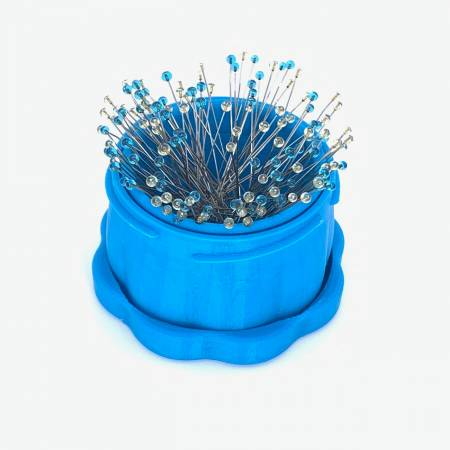 Magnetic Pin Cup Large Blue