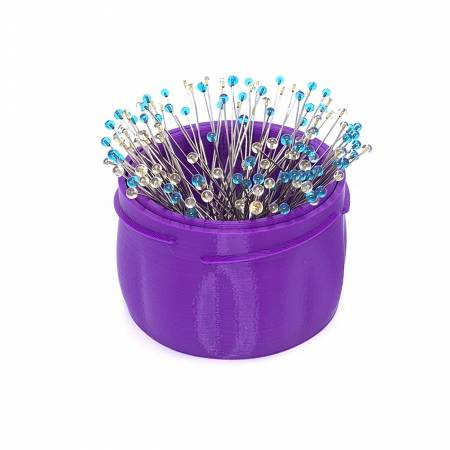 Magnetic Pin Cup Large Purple