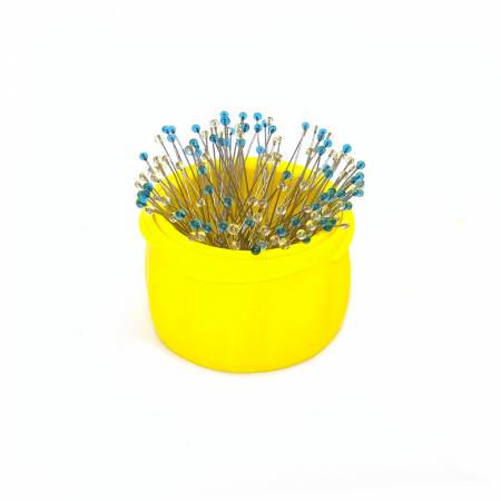Magnetic Pin Cup Large Yellow