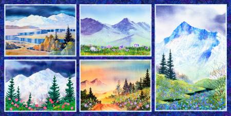 Majestic Mountains Digital Panel