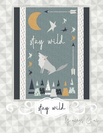 Stay Wild 26 x 32