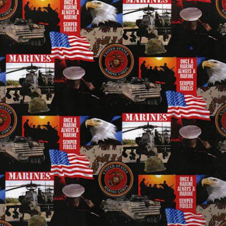 Sykel - U.S. Marines/All Over - MARINES-021M