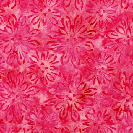 Bejeweled Pink Mum Batik