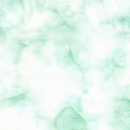 Bejeweled Light Teal Powder Puff Batik