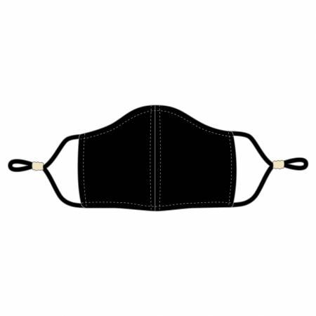 Black Adjustable Mask