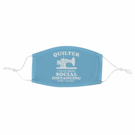 Quilter Social Distancing Adult Adjustable Mask